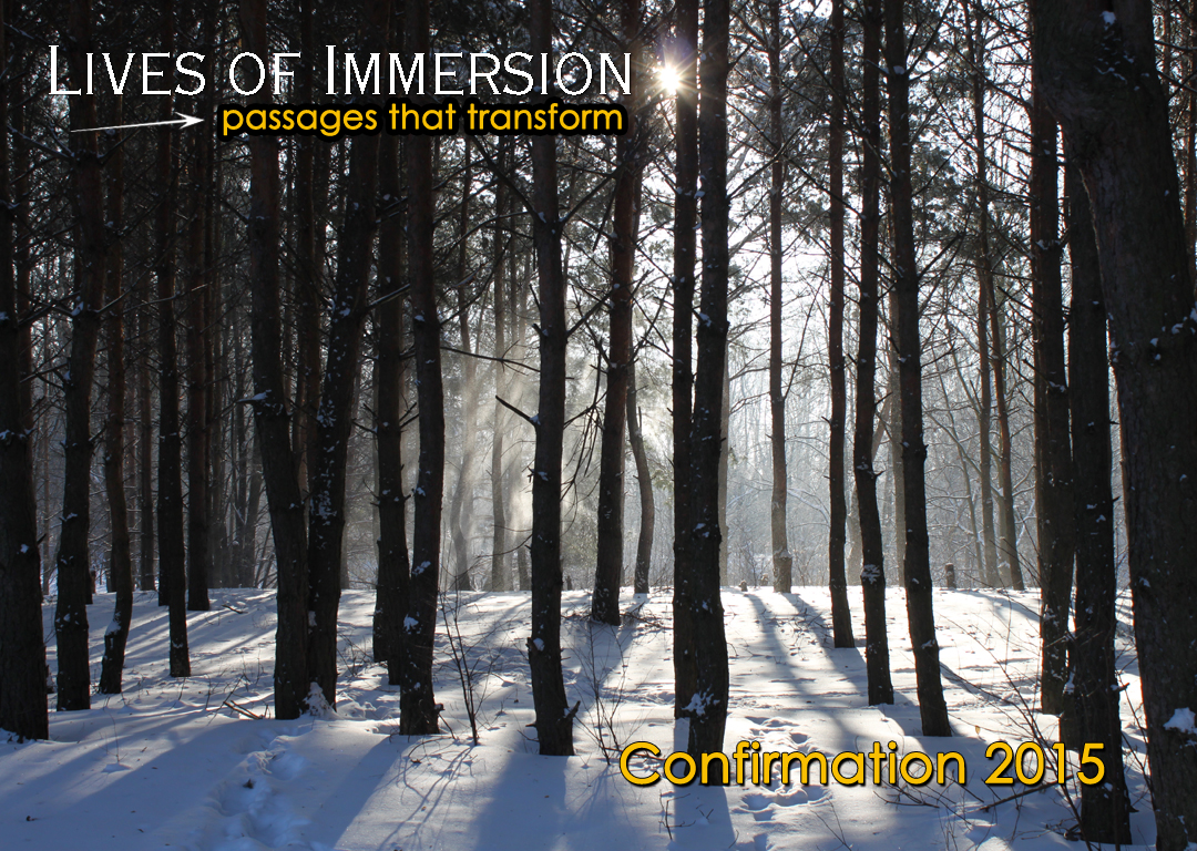 Lives of Immersion - Confirmation 2015